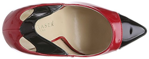 Pleaser - Devious Sexy-22, Scarpe col tacco Donna Rot (Red-Blk Pat)