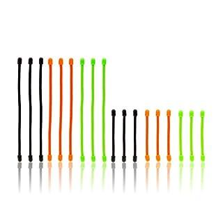 RESPEKT wiederverwendbare Kabelbinder 18tlg. (Mix)
