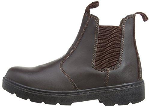 Blackrock Sf12b, Chaussures de sécurité Mixte adulte - Noir (Black) - EU 41 (UK 7) Marron (Brown)