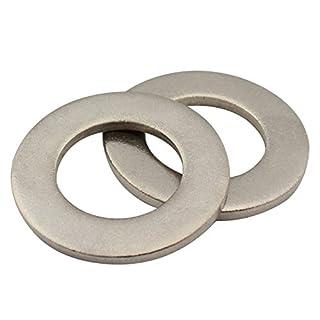 SC-Normteile | 100 Stück Unterlegscheiben Form A ( Beilagscheiben) | M5 | DIN 125 | rostfreier Edelstahl A2 ( V2A ) | SC125
