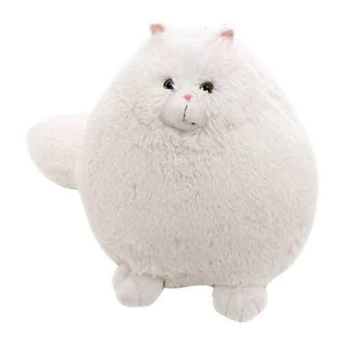 ationskatze Stuffed Tier Toys Plüsch Doll Niedliche Weiß Plüsch Persischen Katze Geburtstags Kindertag Geschenk ()