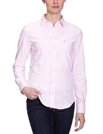 GANT Damen Bluse, 431437, Gr. 38 (M), Pink (LIGHT PINK)