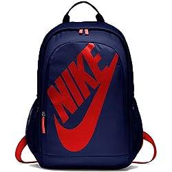 Nike Nk Hayward Futura Bkpk-Solid Backpack, Unisex Adulto, Blue Void University Red, Talla Única