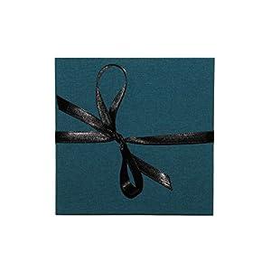 Leporello Fotoalbum 15x15cm schwarze Seiten