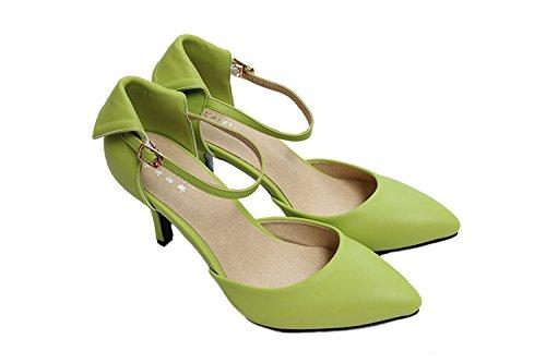 CFP , Damen Knöchel-Riemchen , grün - grün - Größe: 40