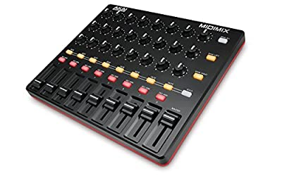 AKAI Professional MIDIMIX High-Performance Portable Fully-Assignable USB MIDI Controller and Mixer for Ableton, Logic Pro, Cubase and More DAW