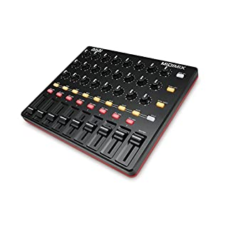 AKAI Professional MIDIMIX | High-Performance Portable Fully-Assignable USB MIDI Controller and Mixer for Ableton, Logic Pro, Cubase and More DAW