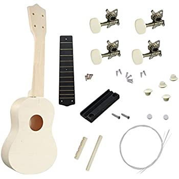 21 Zoll Ukulele Bausatz Set DIY Kit Musik Instrument machen Basswood Ukulele ✪