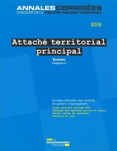 Attaché territorial principal
