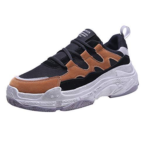 MISSQQ Scarpe Uomo Sportive Sneakers Running Ginnastica Fitness Casual Basse Trekking all'Aperto