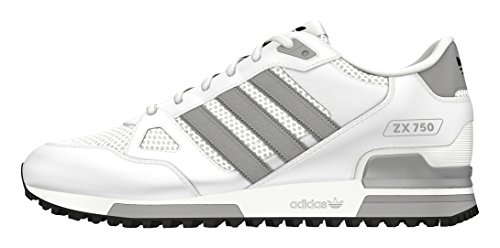 adidas Jungen Zx 750 Turnschuhe Weiß (ftwr White/mgh Solid Grey/core Black)