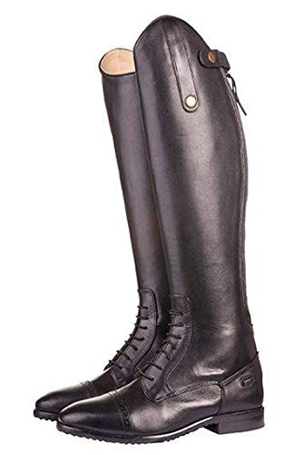 HKM Erwachsene Reitstiefel -Valencia-, kurz/Standardweite9100 schwarz37 Hose, 9100 schwarz, 37