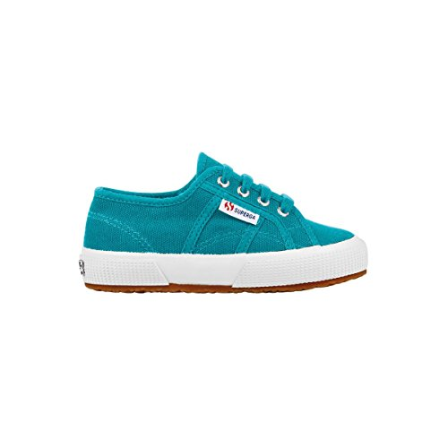 Superga 2750- COBINJ S002KL0, Baskets mode mixte enfant BLUE CARIBE