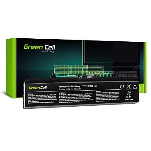 Green Cell Standard Serie GW240 Laptop Akku für Dell Inspiron 1525 1526 1545 1546 (4 Zellen 2200mAh 14.8V Schwarz) - Inspiron 1526 Serien Laptop