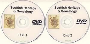 Scottish Genealogy DVD-ROM 2 Disc Set of PDF eBooks Heritage Family Tree Trace Your Ancestors Ancestry
