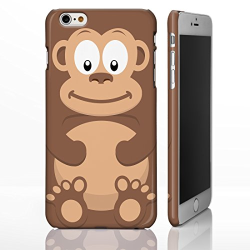 Cute Animal pour la gamme Iphone. irrésistible Créature Cartoon Coques, plastique, 7. Pig, iPhone 6 6. Monkey