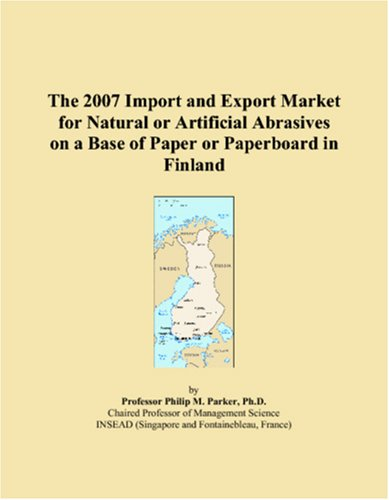 The 2007 Import and Export Market for Natural or Artificial Abrasives on a Base of Paper or Paperboard in Finland