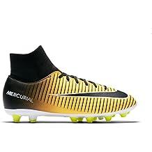 Nike Jr Mercurial Victry 6 DF Agpro Zapatillas, Niños, Amarillo/Negro, ...
