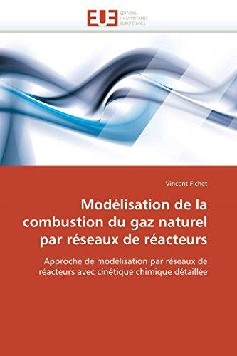 Modélisation de la combustion du gaz naturel par réseaux de réacteurs par Vincent Fichet