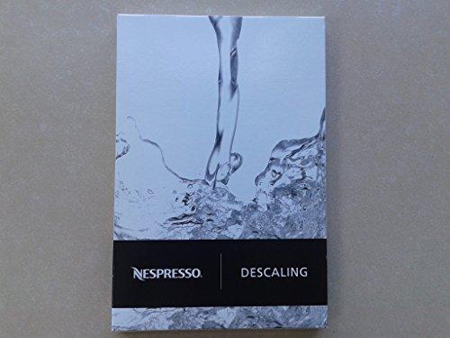 Nespresso descaling-set dkb2C4Für Inissia, U, Pixie, Citiz, Lattissima, Lattissima + Lattissima Pro...