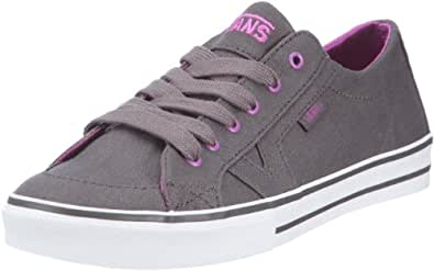 vans damen tory anodized grey purple sneaker grau 36 5. Black Bedroom Furniture Sets. Home Design Ideas
