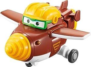 Super Wings- EU720022 Transform-a-Bots Todd, Color Brown (