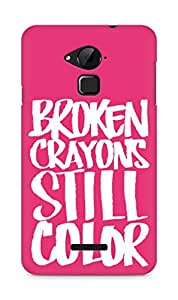 AMEZ broken crayons still colour Back Cover For Coolpad Note 3