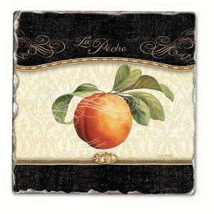 Gourmet Fruit Einzeltrommel Tile Coaster