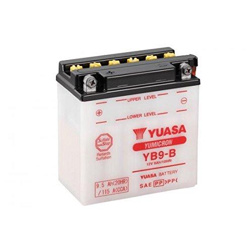 Batteria YUASA YB9-B convenzionale consegnata con Pack acido-Yuasa 32yb9b-acid