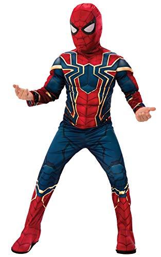 Rubie's Offizielles Avengers Iron Spider, Spiderman Deluxe Kinderkostüm, Größe S, Alter 3–4, Höhe 117 ()