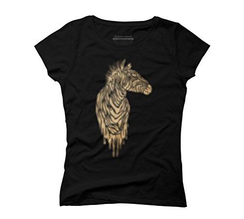 de zebras Women's Graphic T-Shirt - Design By Humans Black