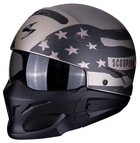 Scorpion 82-281-233-05 Motorrad Helm Titanium ()
