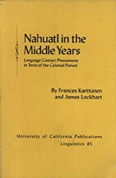 Nahuatl in the Middle Years