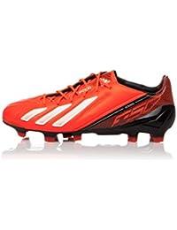 release date: e666f 0e693 adidas Adizero F50 TRX Fg Lea Fußballschuhe, SchwarzOrange EU 43 ...
