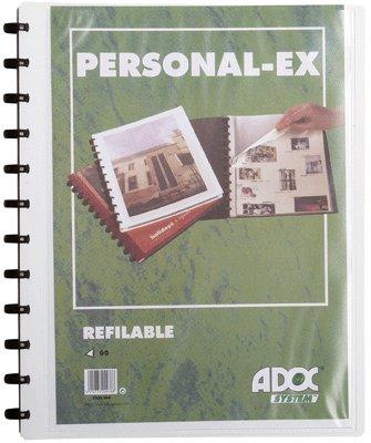 Adoc System Dokumentensammler Adoc 60Blick Hartschale personalisierbar weiß