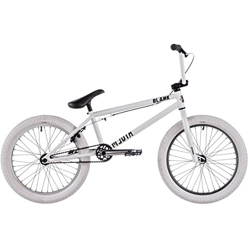 Blank Media BMX Bike 2017 20.6in Top Tube 20in Wheel Gloss White