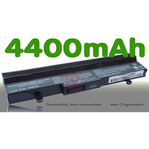Vinitech Akku für Asus EEE PC AL31-1005 EeePC 1005HA PC 1005-HA AL32-1005 R101 ML31-1005 PL32-1005 990AAS168288 0B20-00KA0AS