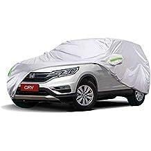 Funda para Coche JIANPING Cubierta del Auto Honda CRV vehículo Todoterreno SUV para Interiores y Exteriores