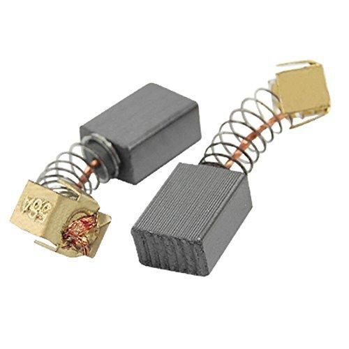 DealMux 5 pares 2/5 x 3/10 x 9/50 escobillas de carbón para motor eléctrico