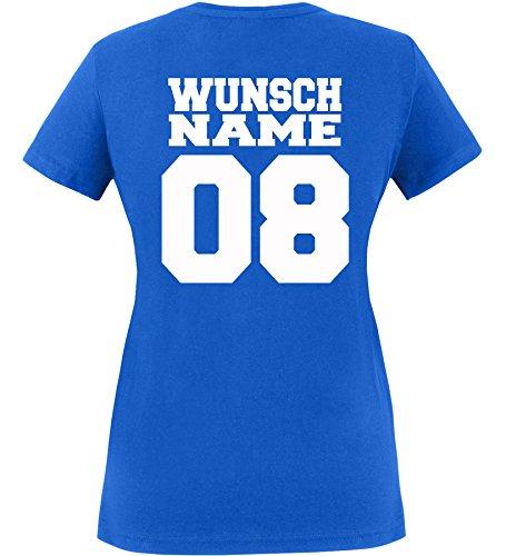 Luckja Wunschname und Wunschnummer Herren und Damen T-Shirt