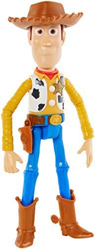 Mattel GGX34 - Toy Story 4 Woody Figur, 17 cm Spielzeug Action Figur ab 3 ()