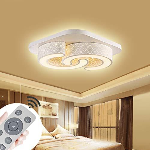 Lámpara techo regulable LED 64W Lámpara techo Cuadrado