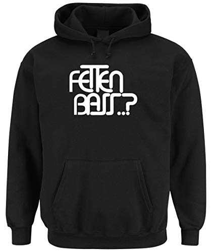 Certified Freak Fetten Bass Hooded-Sweater Black S