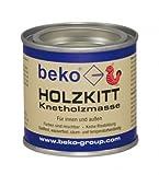 BEKO Holzkitt Knetholzmasse 110 g, buche-hell, 1 Stück, 23202