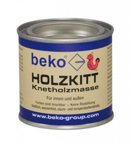 BEKO 23202 Holzkitt Knetholzmasse 110 g, buche-hell