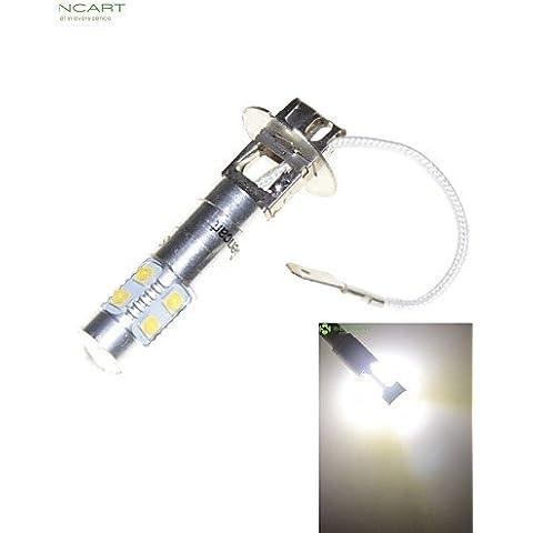 H3 ZSQ PK22S 35W 7 x CREE LED blanco 6000K Coche Bombilla de faro de luz de faro antiniebla AC/DC 9 0 V #337