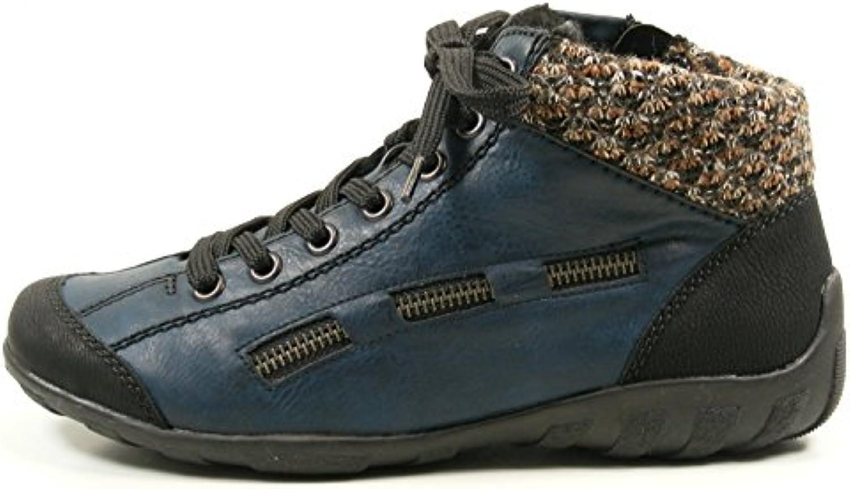 Rieker Damen L6543 Hohe SneakerRieker 25063 25 Herren Sandale schwarz Billig und erschwinglich Im Verkauf
