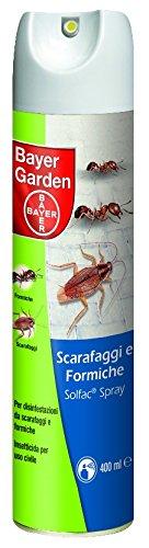 Insetticida spray scarafaggi e formiche Bayer Garden