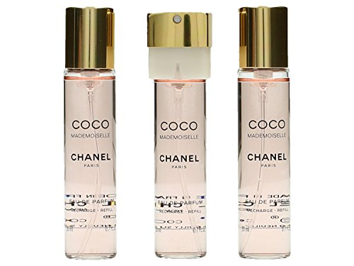 Chanel Coco Mademoiselle 3x20 EDP Twist and Spray (3 Nachfüllungen)