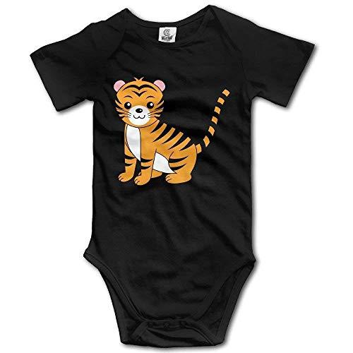 Kostüm Kuscheliger Tiger Baby - Babybekleidung Jungen Mädchen T-Shirts, Baby Tigers Funny Short Sleeves Variety Baby Onesie Bodysuit for Boys